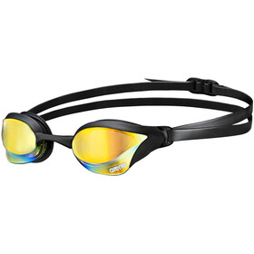 arena Cobra Core Mirror Goggles, yellow revo-black